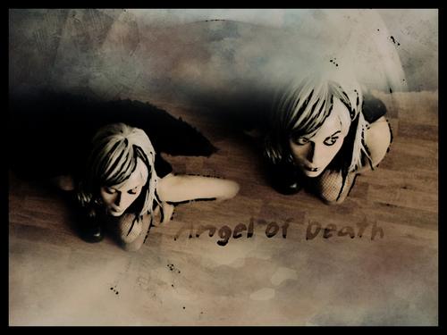 P Sawyer as the Angel –Jäger der Finsternis of Death