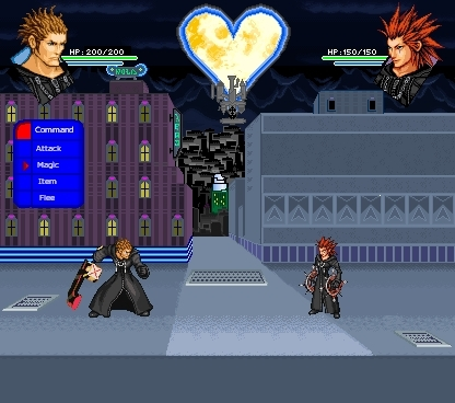 RPG Screens: Lexaeus vs. Axel