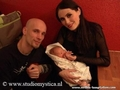 Robert and Sharon with Eva Luna - within-temptation photo