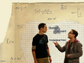 Sheldon and Leonard - the-big-bang-theory wallpaper