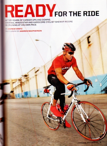 Shemar Moore - March '09 issue of Men's Health