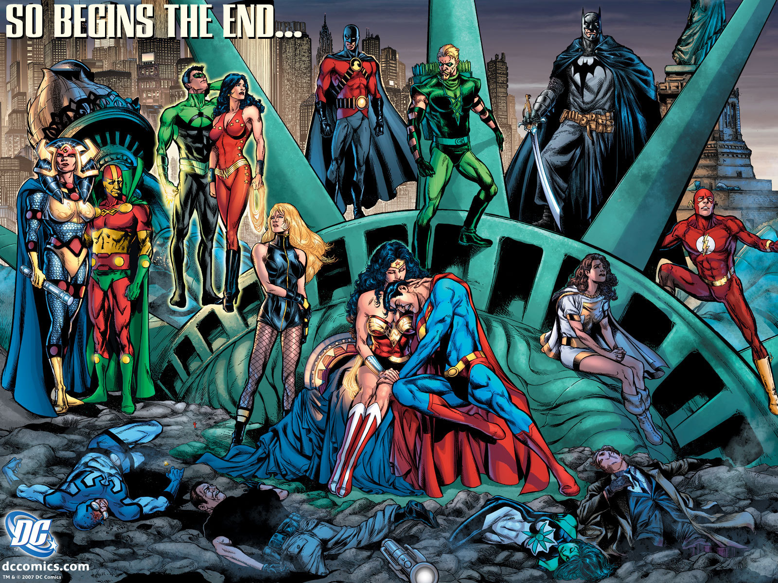 DC Comics So Begins The End
