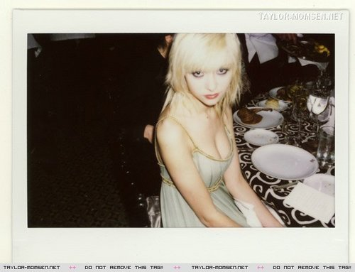 Taylor Momsen Polaroids