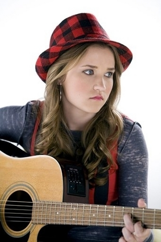 Emily Osment wallpaper with an acoustic guitar, a guitarist, and a guitar titled The Hero In Me Still