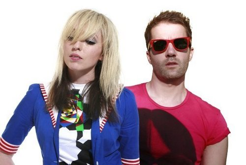 the ting tings Hintergrund containing sunglasses entitled The Ting Tings