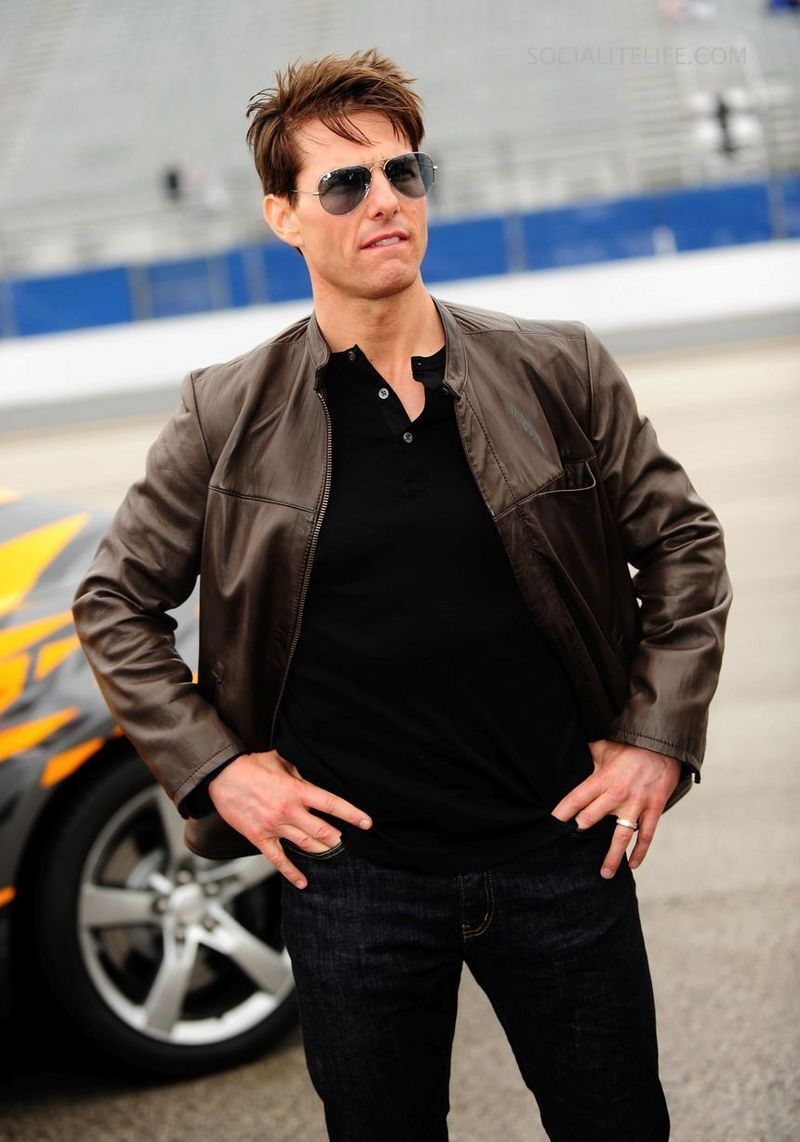 Tom Cruise At the Daytona 500  - tom-cruise photo