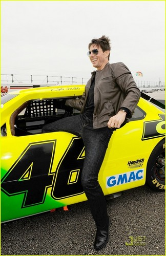 Tom Cruise At the Daytona 500