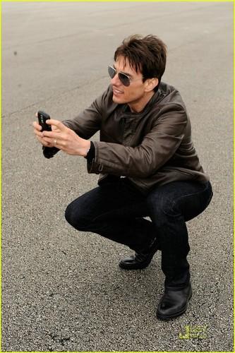 Tom Cruise At the Daytona 500
