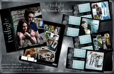 Twilight-Borders Exclusive 18-Month Calendar