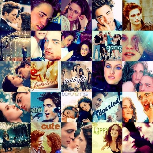 Twilight ikoni collage