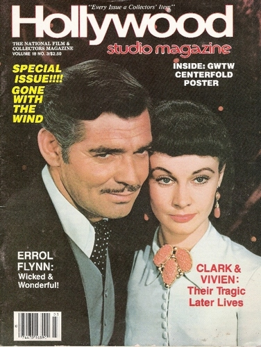 Classic Movies wallpaper with anime titled Vivien Leigh & Clark Gable