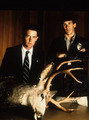 agent cooper & sheriff truman - twin-peaks photo
