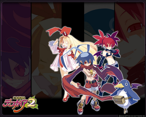 disgaea team wallpaper