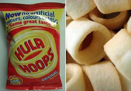 hula hoops - potato-chips Photo