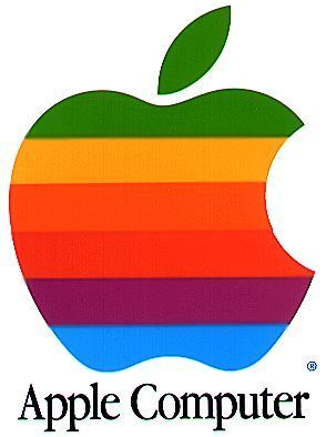 old apple logo - apple Photo