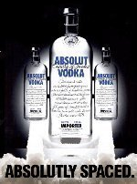 ووڈکا, شراب پیپر وال titled Absolut