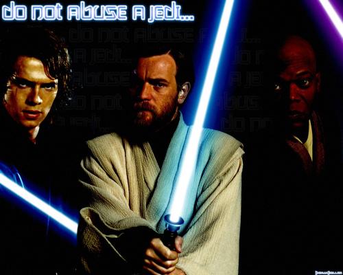 Anakin,Obi Wan Kenobi and Mace Windu