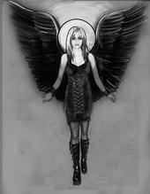 Angel –Jäger der Finsternis of Death Drawing