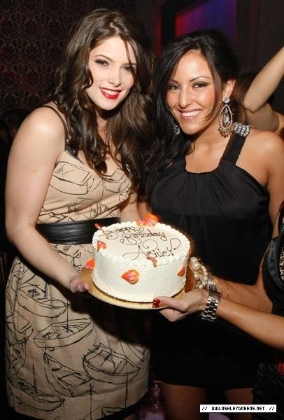 Ashley Greene's Birthday Party at Prive