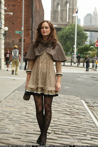 Blair Waldorf Fashion wallpaper containing a fur coat entitled BWF <333