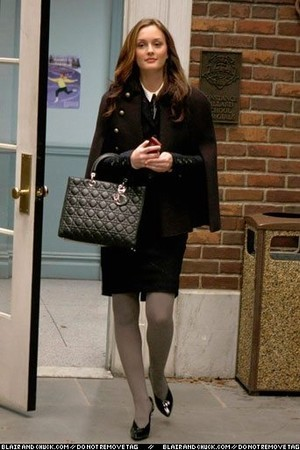 Blair Waldorf Fashion wallpaper with a business suit entitled BWF