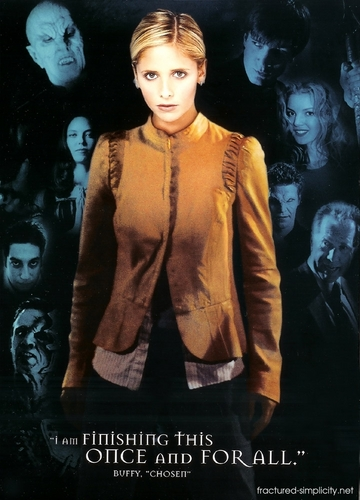 Bangel wallpaper possibly containing a cardigan entitled Buffy