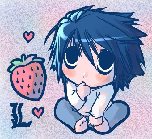 Death Note Wallpaper L Chibi | www.pixshark.com - Images ...
