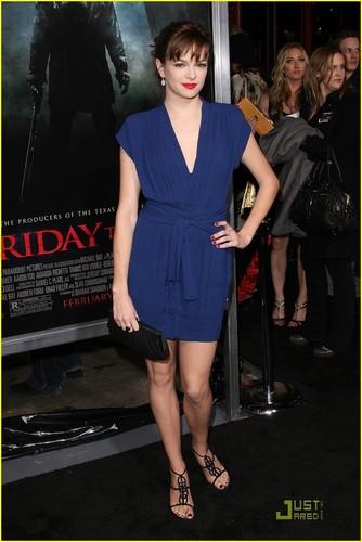 Danielle @ Friday the 13th Premiere