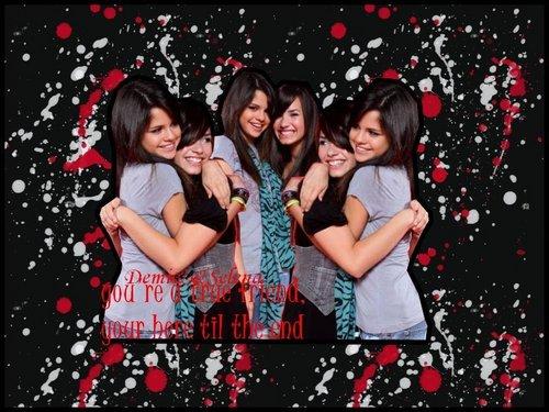 Demi and Selena<BFF