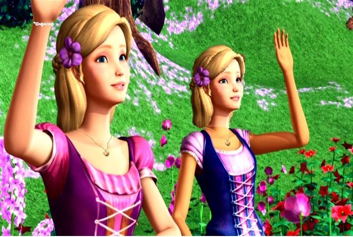 Dvoulůžkový Přátelé - Barbie - filmy Fan Art
