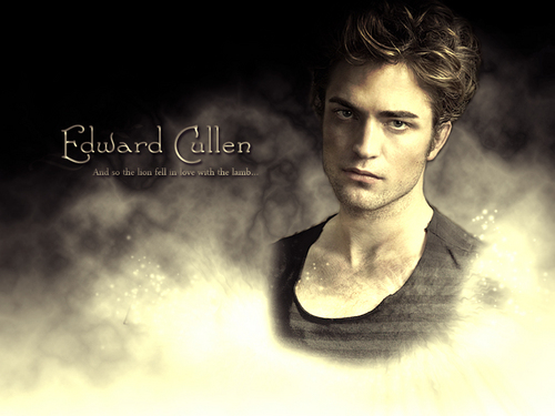 Edward Cullen wallpaper possibly with anime titled Edward