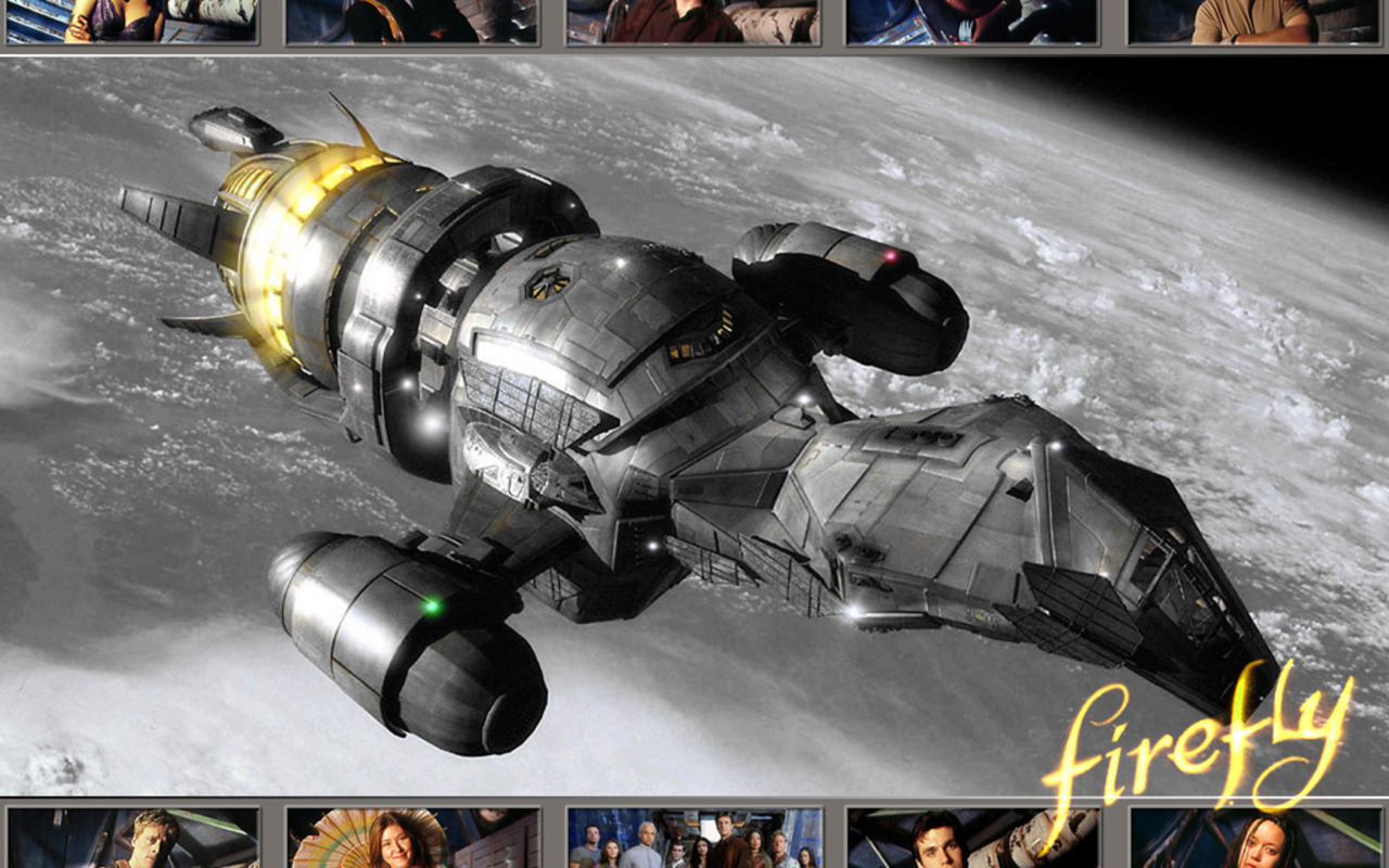 Science fiction firefly