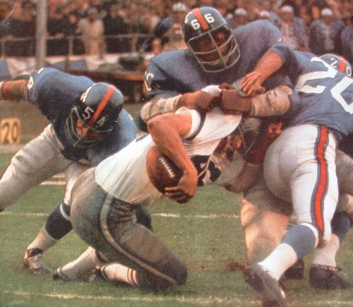 "Giants Defense 1970"""