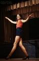 Gilda Radner Rehearsing on Stage