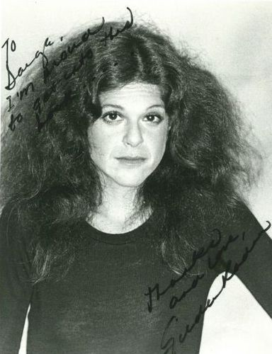 Gilda Radner wallpaper probably with a jersey and a portrait entitled Gilda Radner