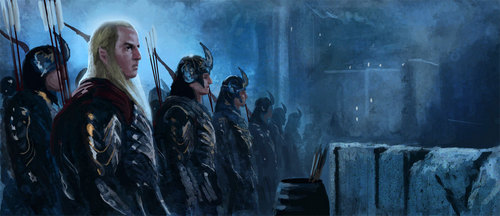 Helms Deep Painting