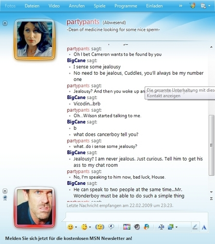Huddy MSN Conversation