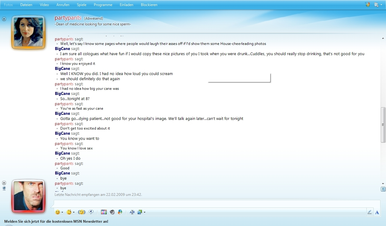 Huddy MSN Conversation
