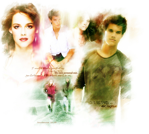 Jacob and Bella wallpaper possibly with a portrait entitled Jake and Bella