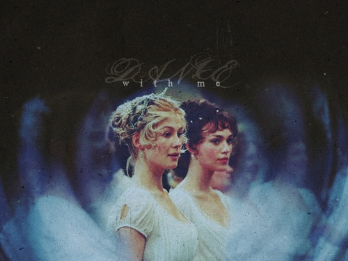 Pride and Prejudice wallpaper called Jane & Lizzie