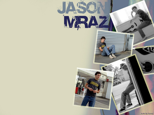 Jason Mraz वॉलपेपर containing an electric refrigerator titled Jason Mraz