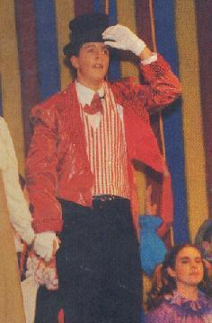 Jason in a highschool play