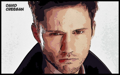 Jeffrey Donovan/David Creegan Comic Hintergrund