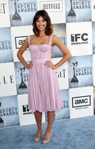 Jessica Alba @ 2009 Independant Spirit Awards