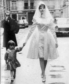 Karina's wedding with Godard