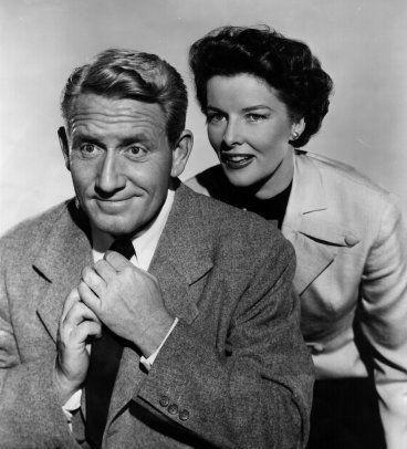 Katharine and Spencer Tracy