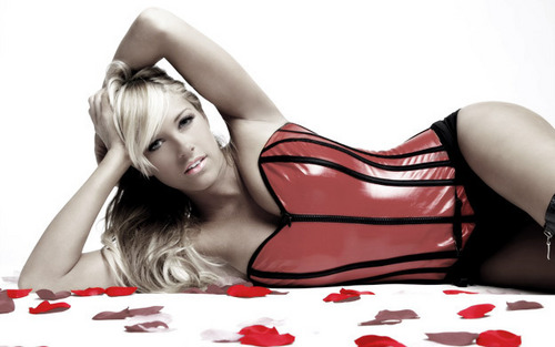 Kelly Kelly With Love Photoshoot.