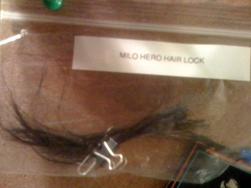 MIlo hair lock