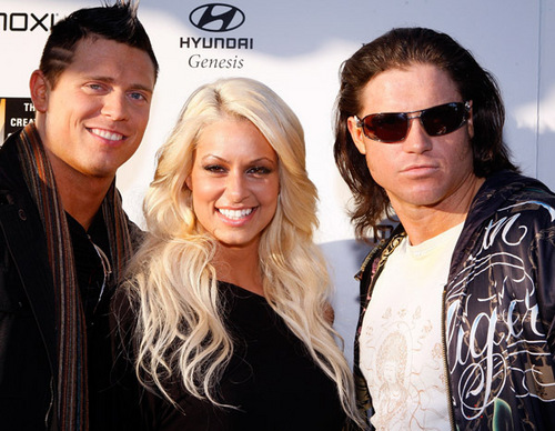Maryse At WWE's Oscar Party.