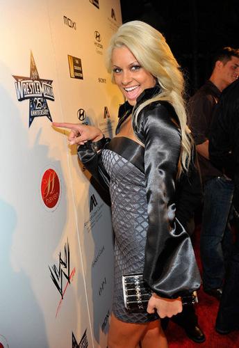 Maryse At WWE's Oscar Party.